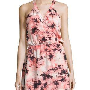 NWOT Parker Small Kita Palm Tree Print Silk Dress
